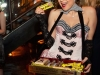 vintage cigarette girl with vintage candies