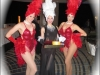 glamorous cigarette girls and showgirls