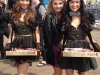 Candy girls with Disney star Stefanie Scott